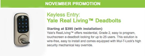 Yale Keyless Entry