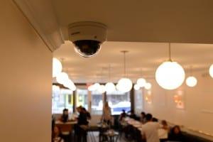 Camera System in Restaurant