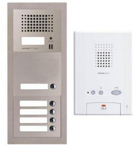 2 types of audio intercom systems