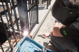 Paragon installer welding ironwork