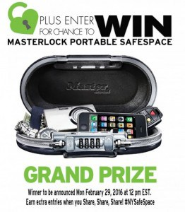 NYSafeSpace Giveaway