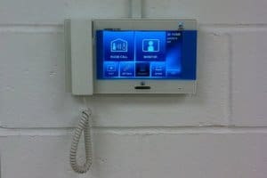Airphone alram panel