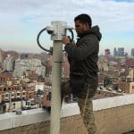 Installing camera on the roof
