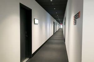 View of apartment hallway