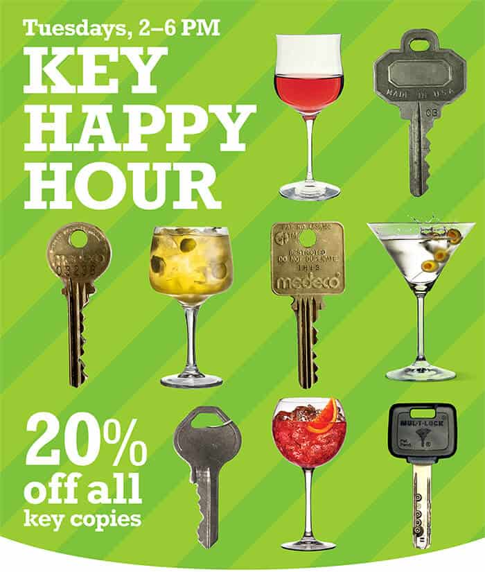 happy hour keys