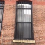 Before image of Customer's previous window gate.