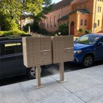 Exterior Mailbox system for multi-unit apartment complex