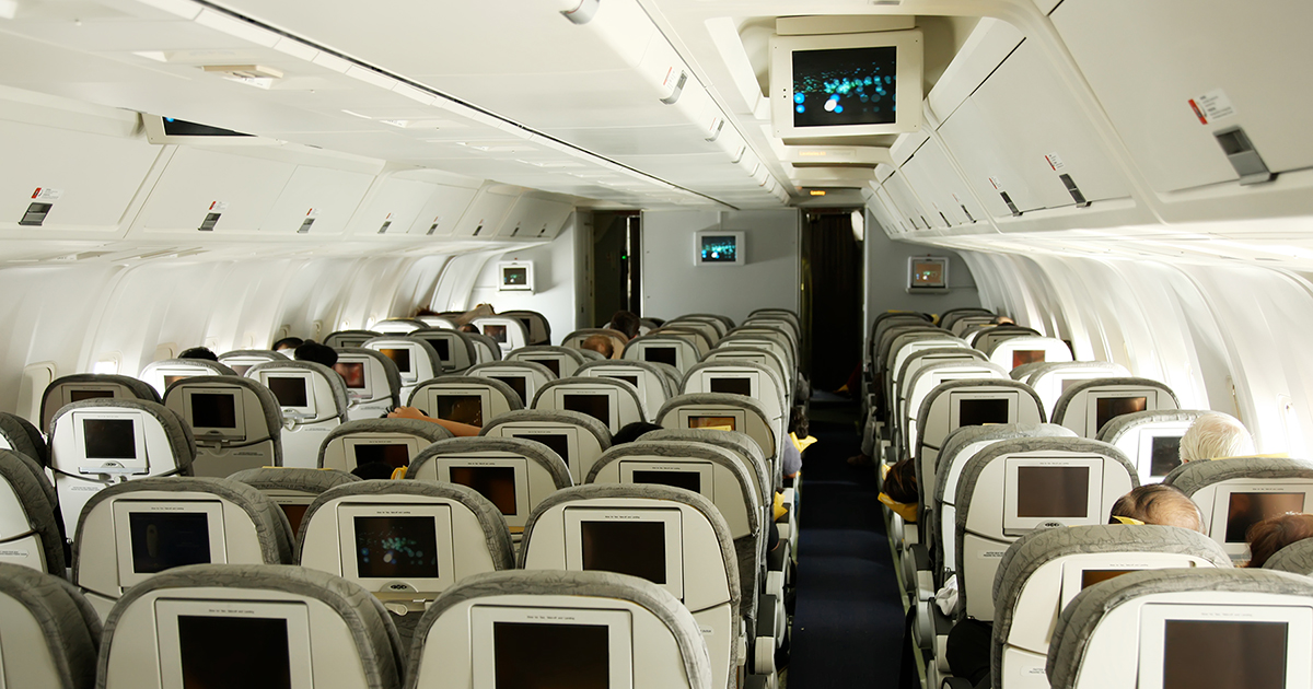 No, Airlines Aren't Watching You With Cameras (Yet)
