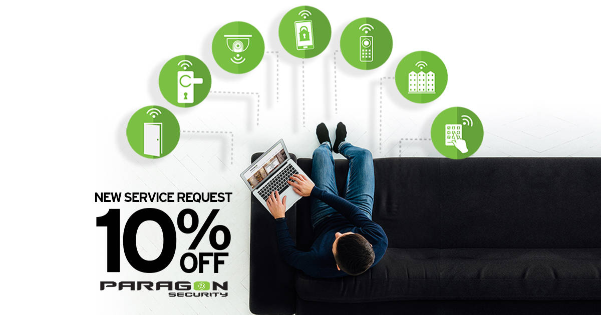 10% Off New Service Request
