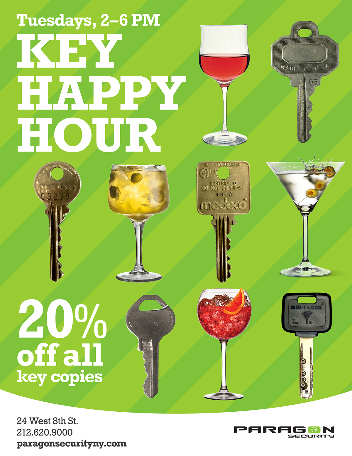 key happy hour