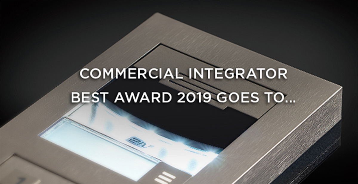 2N LTE Verso Intercom Wins Commercial Integrator BEST Award