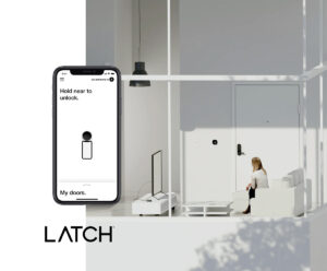 Latch is the first full-building access system that works for every access point in the apartment building