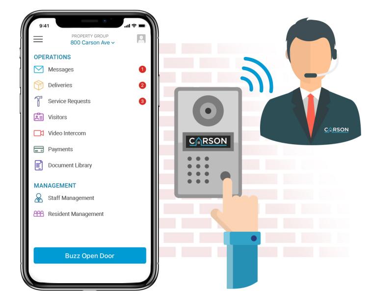 Install Carson Remote Doorman
